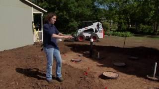 Building a Sand Cistern
