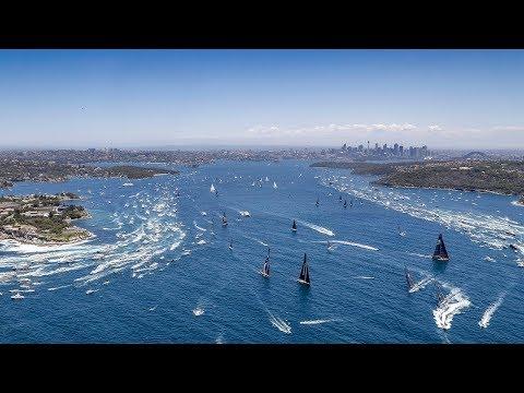 Rolex Sydney Hobart Yacht Race 2018 – Race Start
