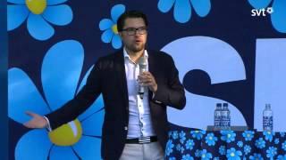 Jimmie Åkessons tal i Almedalen 2015