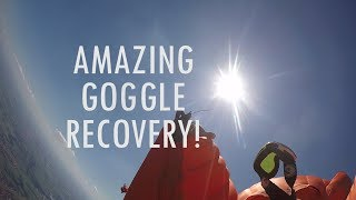 Amazing Goggle Recovery Skydive