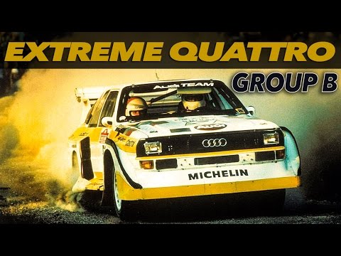 Audi quattro Rally Group B | THE BEST | AWESOME RALLY CAR