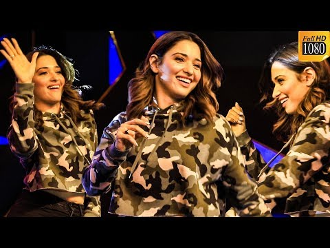 Tamannaah's Sizzling Hot Dance On Stage | Sathyabama University Culturals 2020