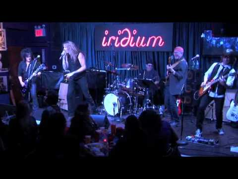 Steve Stevens Band- Van Halen's Hot for Teacher w Sebastian Bach, Pete Thorne at Iridium NYC