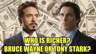 Who Is Richer? Bruce Wayne or Tony Stark? - [DaFAQs]
