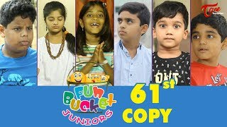 Fun Bucket JUNIORS | Episode 61 | Kids Funny Videos | Comedy Web Serie
