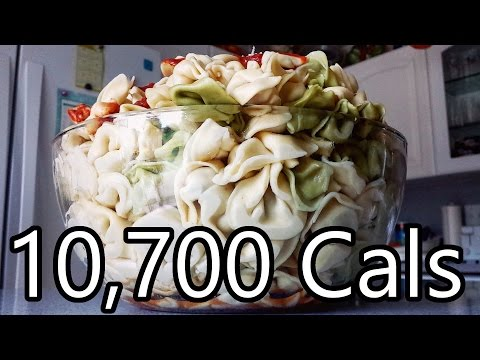 Insane Bowl of Tortellini (Upcoming Live Stream)