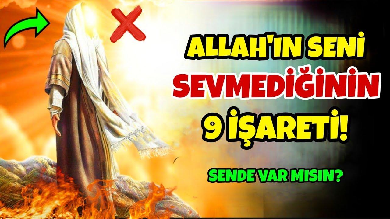 Allah'ın Seni Sevmediğinin 9 İŞARETİ! Sende Var mısın? #Oruç #Ramazan