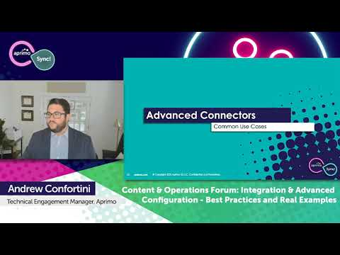 Content & Operations Forum Day 2 Session 3: Integration & Advanced Configuration Best Practices