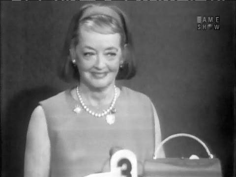 "To Tell the Truth - Bette Davis; Alien abductee; ""Hello, Dolly!"" understudy (Dec 12, 1966)"