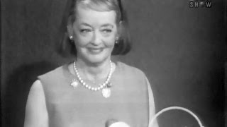 To Tell the Truth - Bette Davis; Alien abductee;