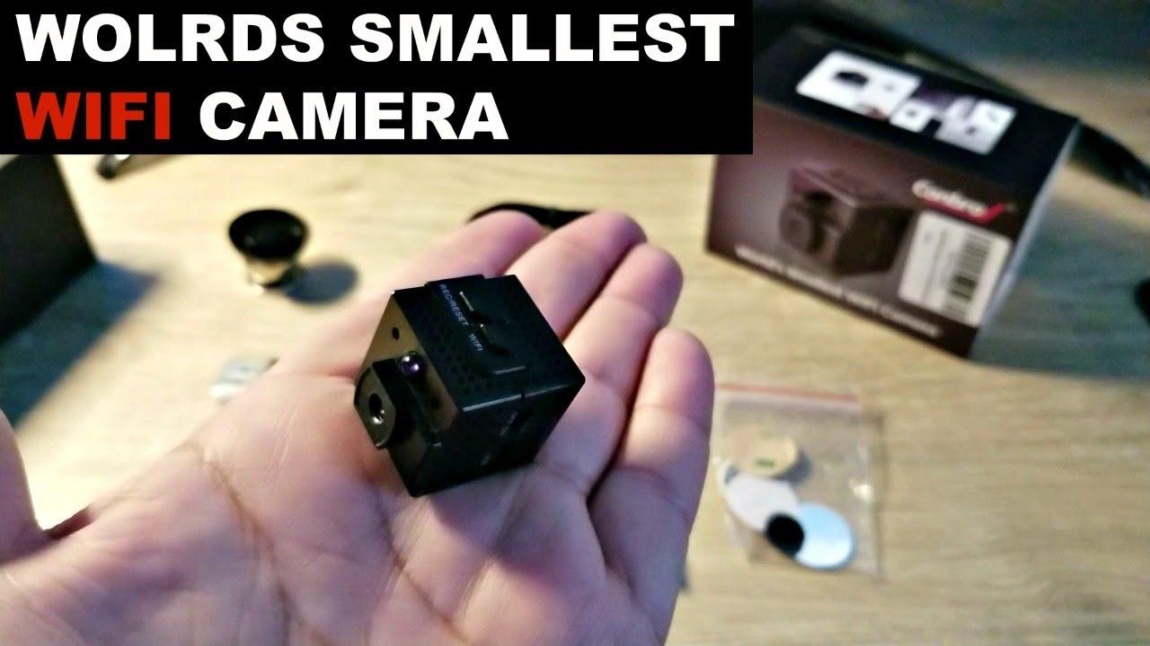 smallest hd wifi camera