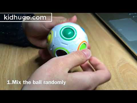 Speed Rainbow Puzzles Ball Football Kids Educational Learning