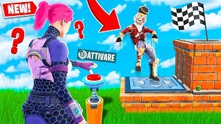 "PRESS THE BUTTON TO WIN!! - FORTNITE ""DUO DEATHRUN"""