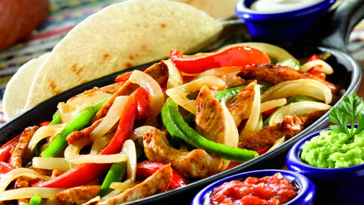 Receta de fajitas de pescado fish fajitas recipe youtube for Max fish menu