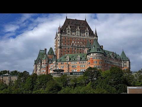 Old Québec City, Canada in 4K (Ultra HD)