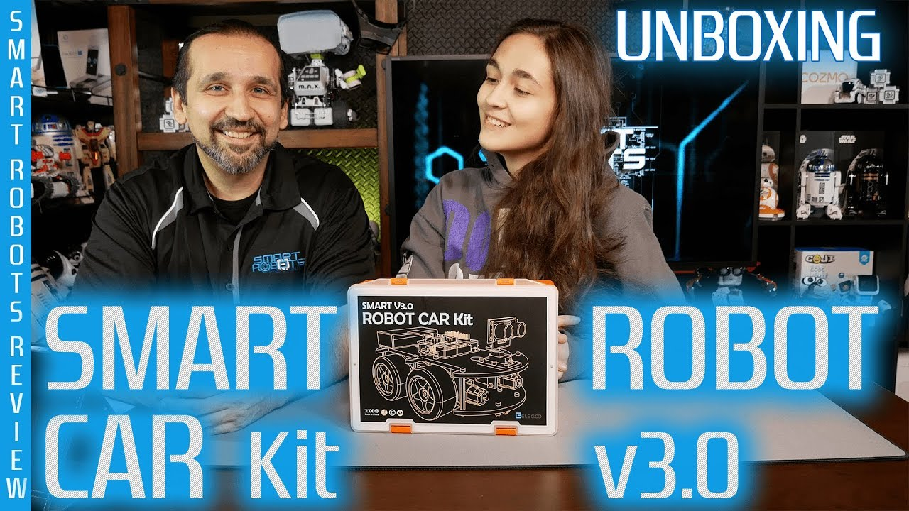 Smart Robot Car Kit by Elegoo - Build your own - Arduino Powered - Smart  Robots Review