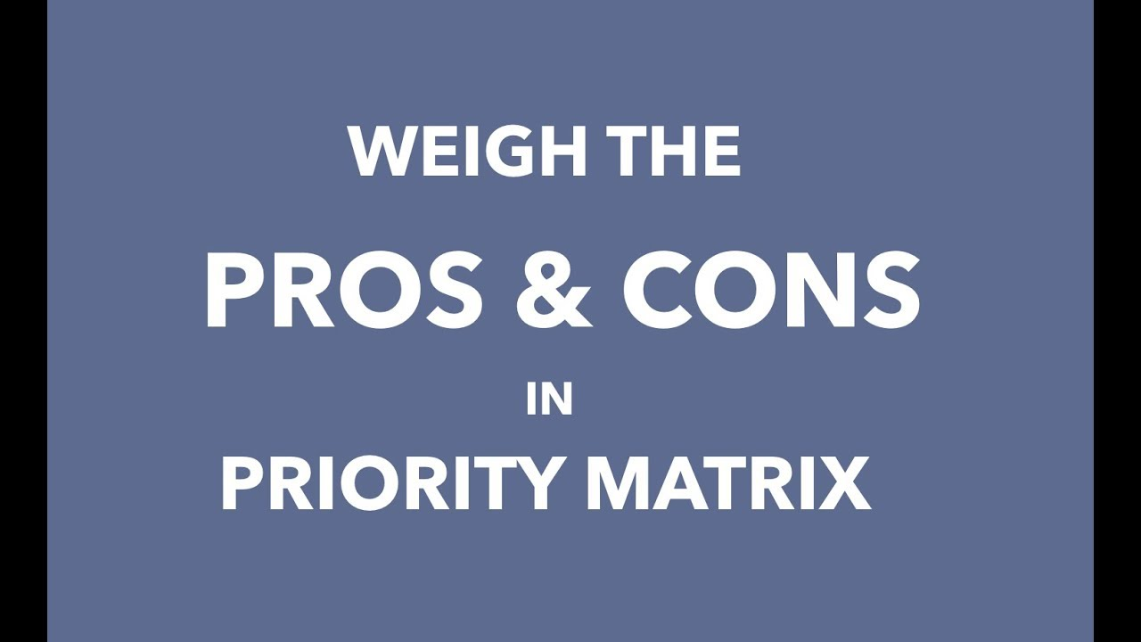Pros and Cons Template Layout   Simple Analysis Template