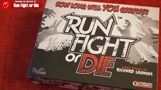Run Fight or Die Review - Board To Death TV