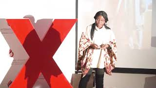Fashion as a tool for taking action towards diversity | Titilayomi Aboluwoye | TEDxCIU