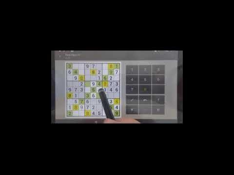 Sudoku Solver - How To Play Sudoku X Very Easy  #1