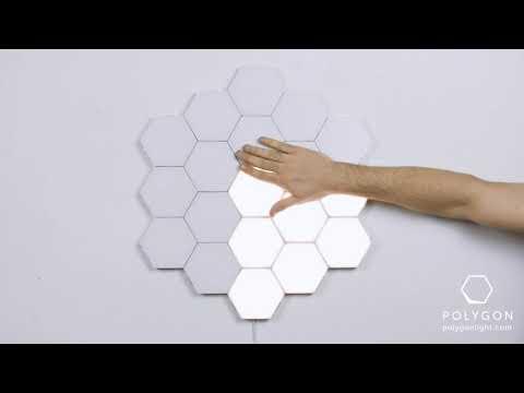 Polygon - Modular & Touch Sensitive Wall Light