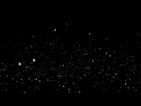 Particles Flying Up - Free HD Animation Black Background