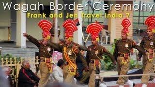 India & Pakistan Full Wagah Border Ceremony - Frank & Jen Travel India 7