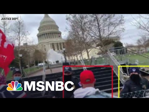 Federal Prosecutors Expect To Charge 550 Individuals In Capitol Riot