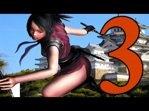 Tenchu: Fatal Shadows Walkthrough - PS2 - Chapter 3-2 - The Geisha and the Hired Blade!