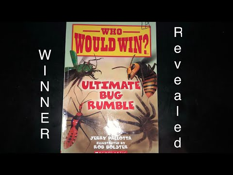 Who Would Win? Ultimate Bug Rumble  WINNER REVEALED! Every Page Shown!