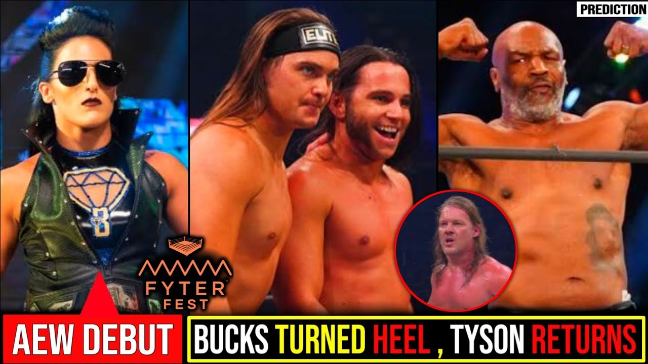 Young Bucks Heel Turn😯||Tessa Blanchard AEW Debut🤩||Mike Tyson Returns🤨||AEW Fyter Fest Highlights.