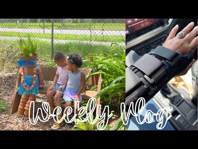 Vlog #79   Botanical Gardens, New Arm Party 😩
