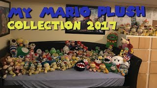 My Mario Plush Collection 2017