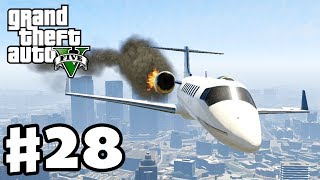 Grand Theft Auto 5 - Gameplay Walkthrough Part 28 - Plane Crash! (GTA 5, XBox 360, PS3)