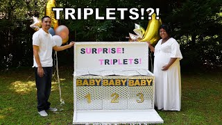 Gender Reveal Surprise! Triplets!