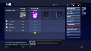 FORTNITE SAVE THE WORLD LIVE TRADING/Donate // Looking for giveaway partner  // Road to 150 subscrib