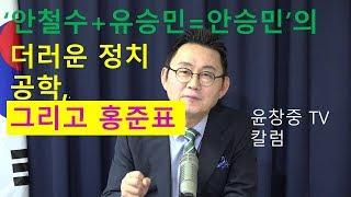 '안철수+유승민=안승민'의 더러운 정치공학, 그리고 홍준표  윤창중 TV 칼럼(2017.10.19)