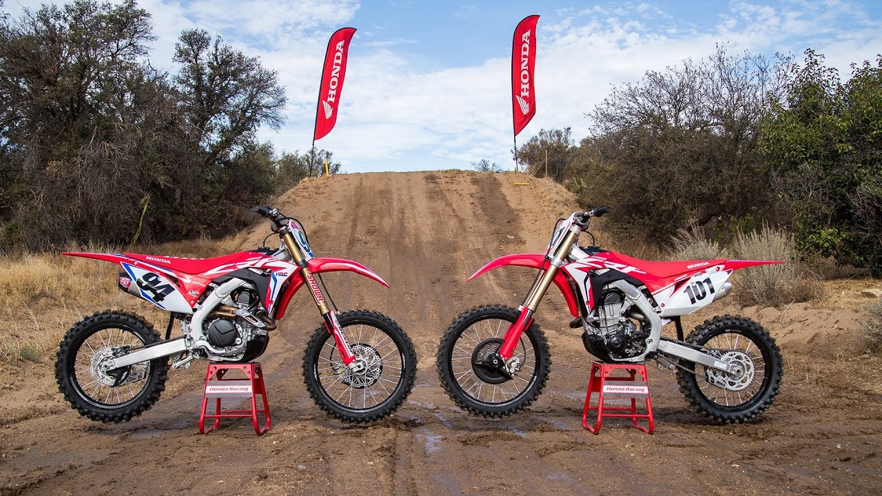 Racer X Films 2019 Crf450r And Crf450r Works Edition Youtube