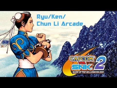 Capcom Vs SNK 2:Ryu/Ken/Chun-Li Arcade