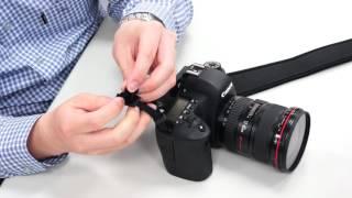 相機背帶簡單卻穩固的綁法