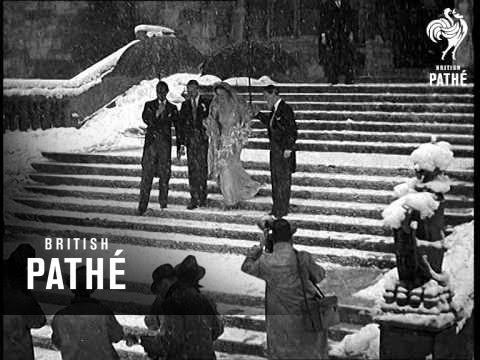 Wedding In A Snowstorm 1939