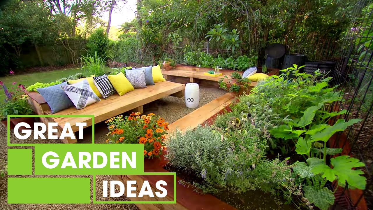 Family Garden Makeover | Gardening | Great Home Ideas ... on Home Backyard Ideas id=68588