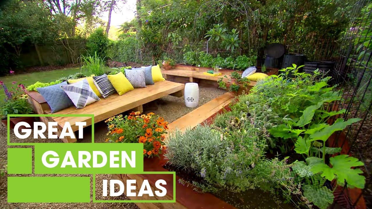 Family Garden Makeover | Gardening | Great Home Ideas ... on Home Backyard Ideas  id=50543