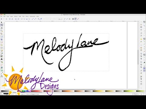 How to Make Your Signature into an SVG