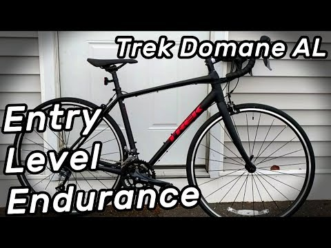 Trek Domane AL2 - Entry Level Road Bikes Great for Beginners