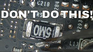 DO NOT SHUNT MOD YOUR GRAPHICS CARD WITH LIQUID METAL!