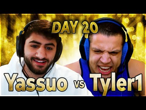 T1 NEEDS A MIRACLE! | YASSUO VS TYLER1 - $10K BET: DAY 20