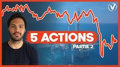 5 ACTIONS pétrole & gaz dans lesquelles INVESTIR EN 2020 (stratégie bourse long terme)
