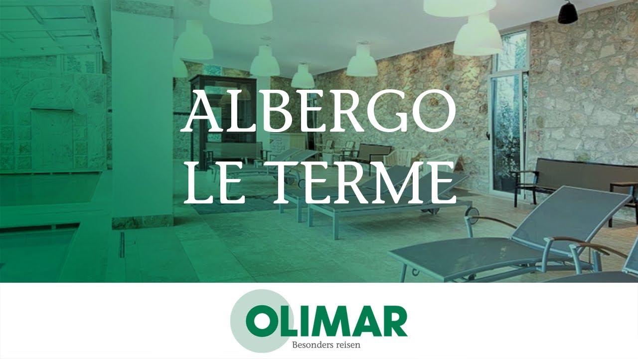 Albergo Le Terme in Bagno Vignoni, Toskana | OLIMAR.com - YouTube