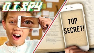 How to See a Hidden Message! (DIY Magnifying Phone) | D.I.SPY